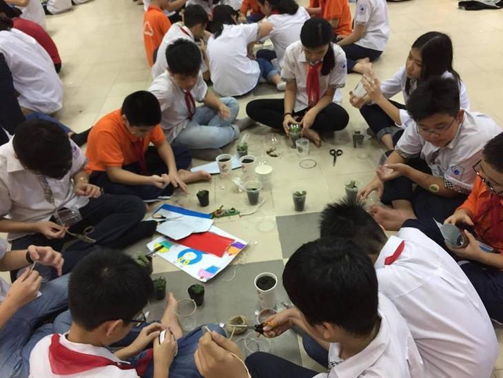 """面向儿童的环保项目-""""回收垃圾很简单"""" - ảnh 2"""