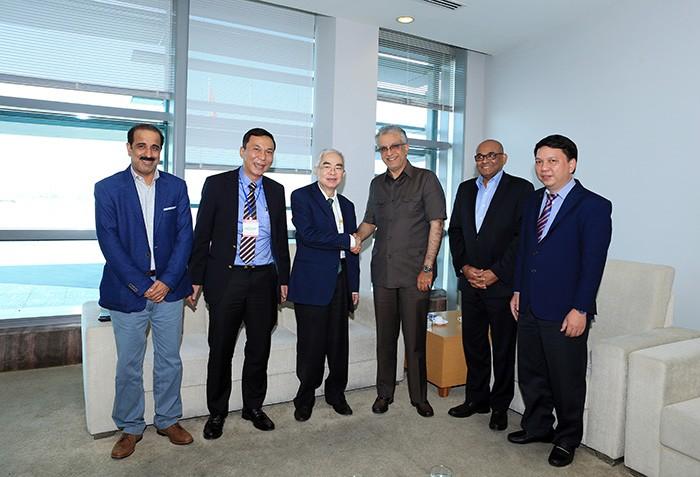 亚洲足球联合会愿协助越南足球协会以实现亚洲足球的共同目标 - ảnh 1