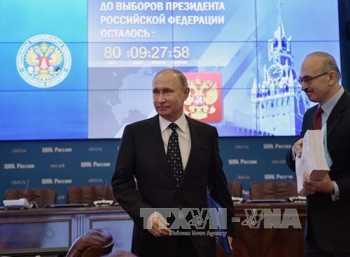 1300多名国际观察员将监督俄罗斯总统大选 - ảnh 1