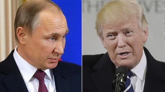 普京和特朗普通电话讨论多项重要问题 - ảnh 1