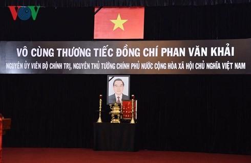 越南前总理潘文凯追悼会举行 - ảnh 1