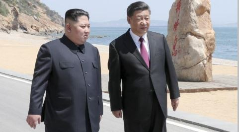 习近平与金正恩举行会谈 - ảnh 1