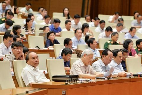 越南国会讨论《云屯、北云峰和富国特别行政经济单位法(草案)》 - ảnh 1