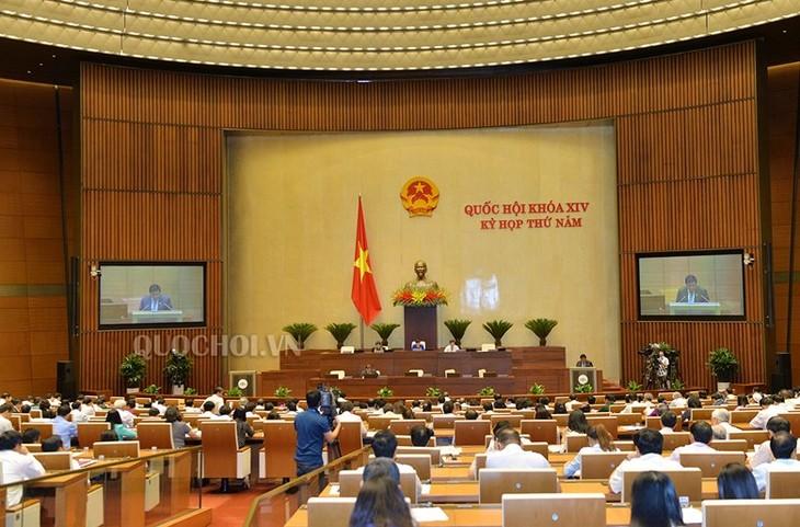 越南国会讨论《举报法修正案(草案)》和《竞争法修正案(草案)》 - ảnh 1