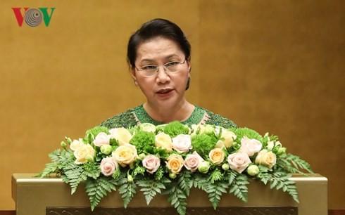 越南14届国会5次会议闭幕 - ảnh 1