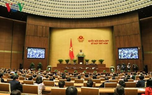 越南14届国会5次会议组织工作科学高效 - ảnh 1