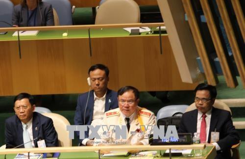 越南警察积极参加联合国活动 - ảnh 1