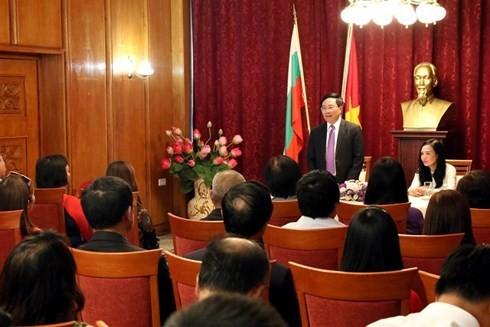 越南政府副总理兼外交部长范平明对保加利亚进行正式访问 - ảnh 2