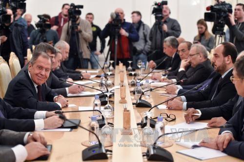 俄罗斯与叙利亚反政府武装的谈判失败 - ảnh 1