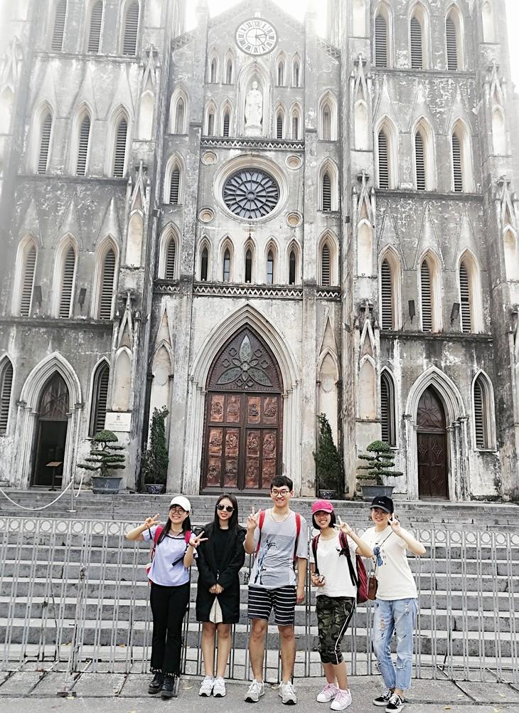 中国学生陆运英讲述越南感触的文章 - ảnh 2