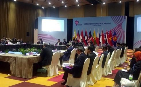 东盟与中日韩高官会和东盟与东亚峰会高官会在新加坡举行 - ảnh 1
