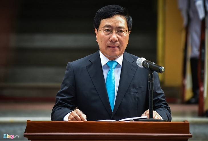 越南外交部举行升旗仪式庆祝东盟成立51周年 - ảnh 1