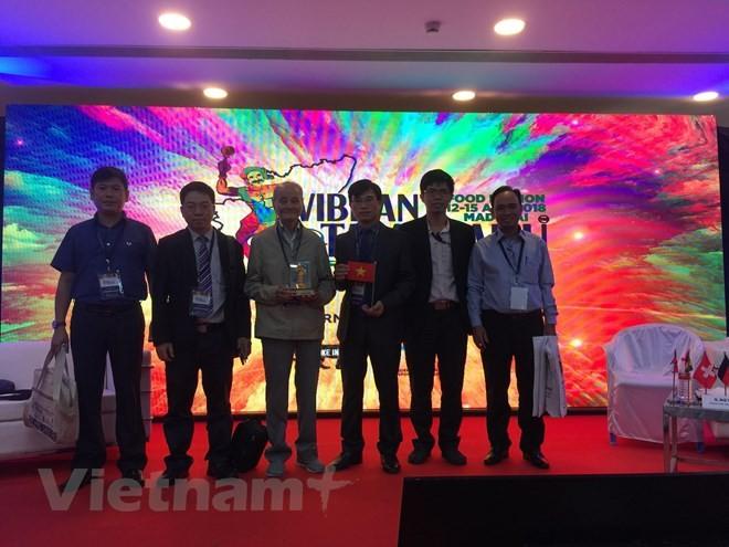 越南参加印度泰米尔纳德邦食品博览会 - ảnh 1