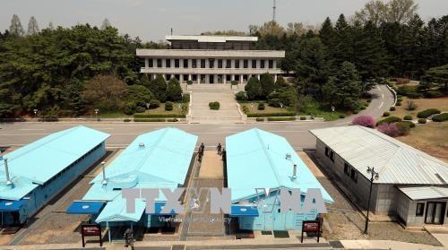 韩朝恢复东海岸军事通信线路 - ảnh 1