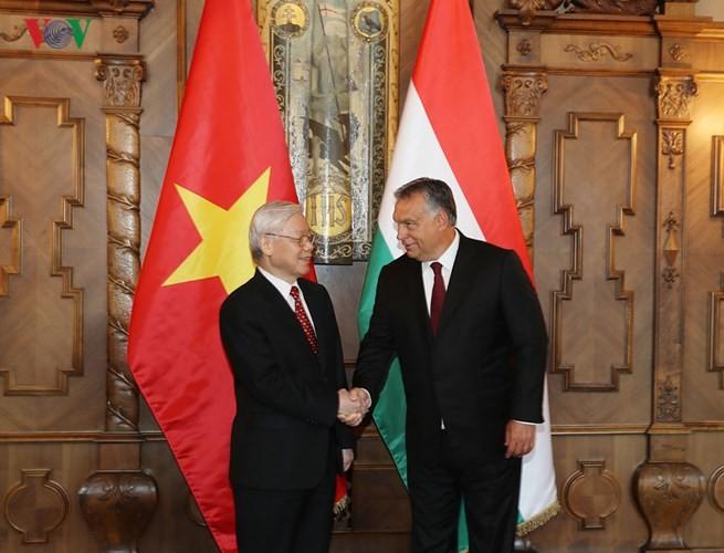阮富仲圆满结束对俄罗斯和匈牙利的正式访问 - ảnh 1