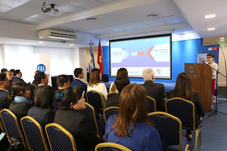 越南与阿根廷推动贸易合作 - ảnh 1