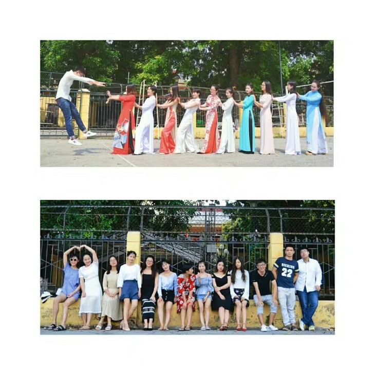 中国学生在越南打钟点工 - ảnh 1
