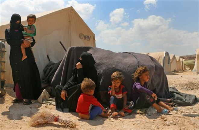 数千叙利亚人返回伊德利卜省 - ảnh 1