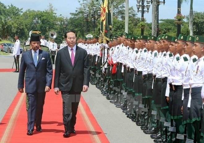 陈大光主席及其提高越南地位的努力 - ảnh 2