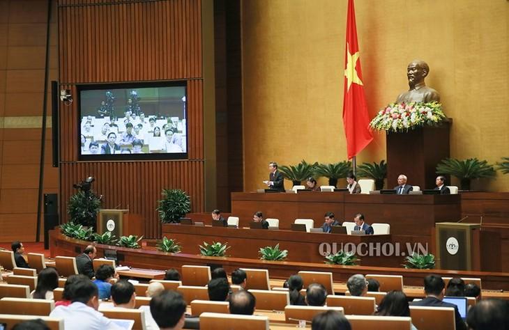 越南国会质询和回答质询会议开始举行 - ảnh 1