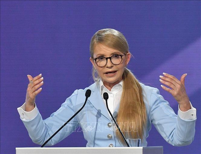 乌克兰前总理季莫申科正式宣布参加总统选举 - ảnh 1
