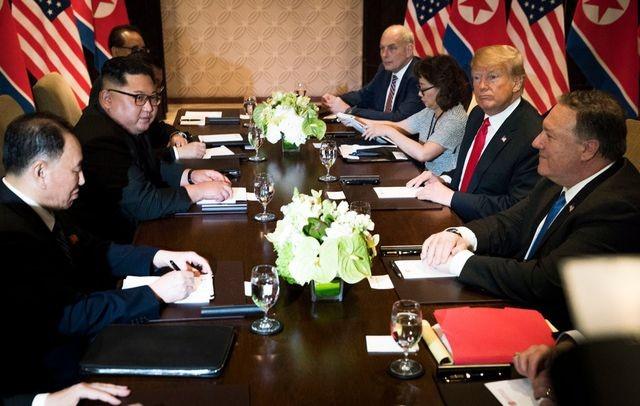 美国寻求朝鲜无核化问题的更全面计划 - ảnh 1