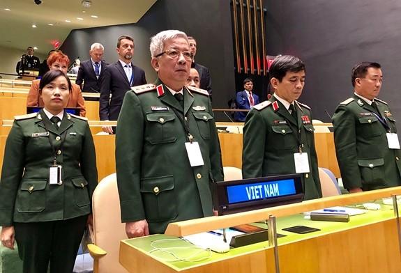 越南重申积极参加联合国维和行动的承诺 - ảnh 1