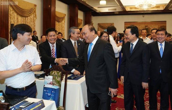 阮春福出席2019年越南旅游人力资源论坛 - ảnh 1