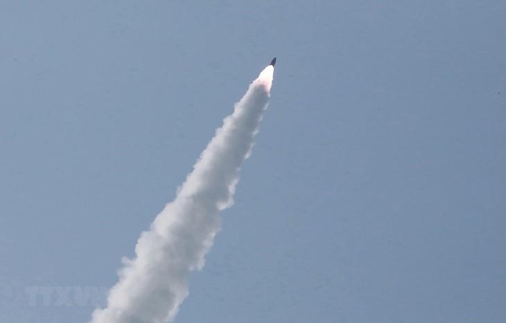 朝鲜强调火力打击训练属于正常训练 - ảnh 1