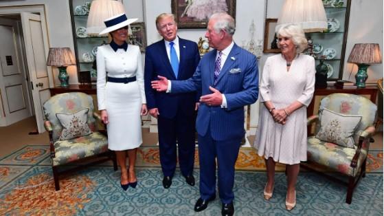 特朗普访问英国 - ảnh 1