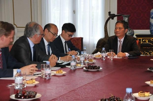 欧洲企业支持尽早签署与越南自贸协定 - ảnh 1