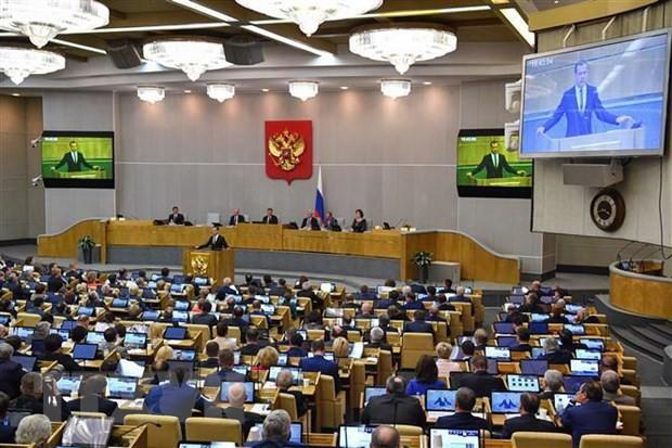 俄罗斯国家杜马通过关于暂停履行《中导条约》义务的法案 - ảnh 1