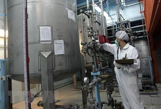 伊朗低度浓缩铀库存突破300公斤 - ảnh 1