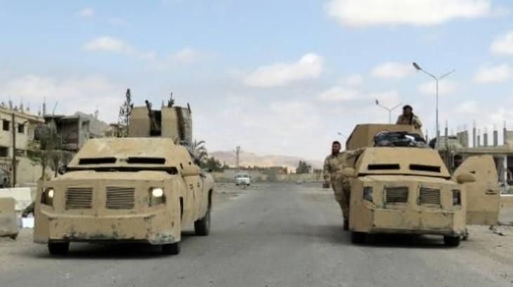 Syrie: la reprise d'al-Qaryatayn de l'armée depuis l'Etat islamique - ảnh 1