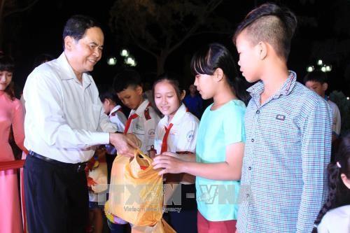Le président du FPV en visite à Cân Tho - ảnh 1