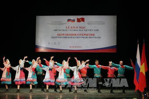 Ouverture des Journées culturelles de la Russie au Vietnam - ảnh 1