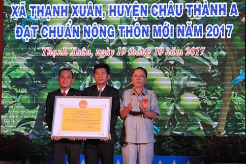 Hau Giang a sa 20ème commune néo-rurale - ảnh 1