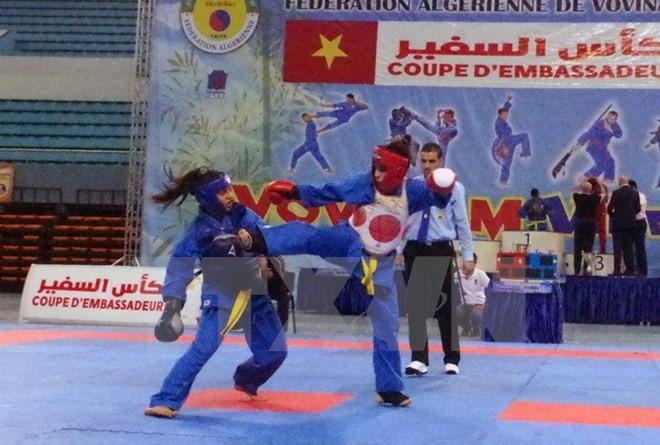 Finale de la coupe d'ambassadeurs du Vovinam en Algérie - ảnh 1