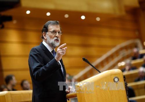 Mariano Rajoy demande la destitution du président catalan  - ảnh 1
