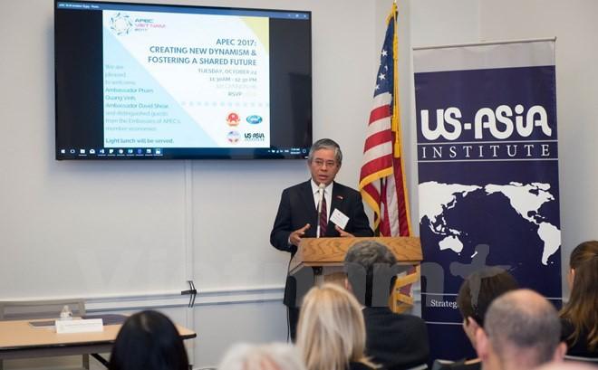 Le Vietnam participe à un colloque sur l'APEC au Congrès américain - ảnh 1
