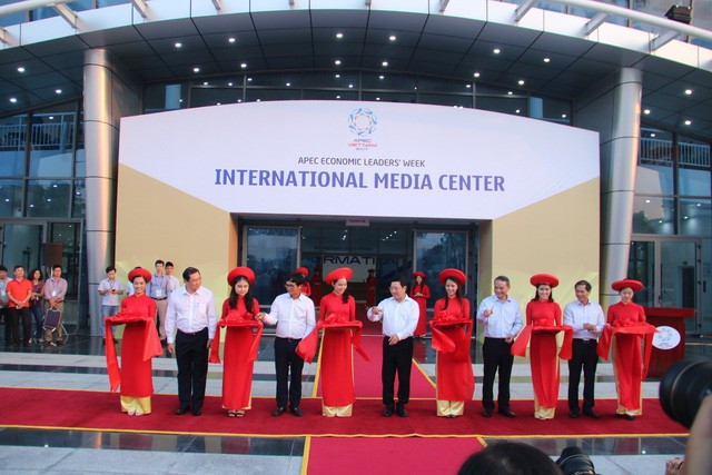 APEC 2017 : Inauguration du Centre international de presse - ảnh 1