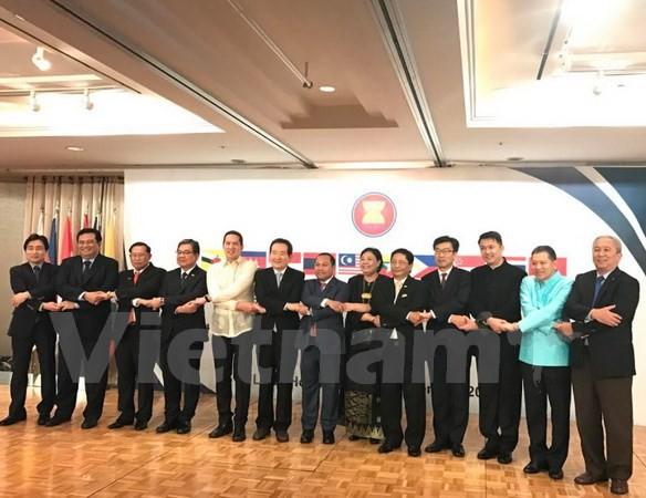 Le 50ème anniversaire de la fondation de l'ASEAN fêté en République de Corée - ảnh 1