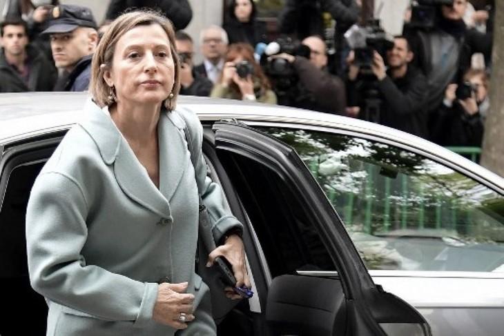 Catalogne: la présidente du parlement écrouée jusqu'au versement d'une caution de 150.000 euros - ảnh 1