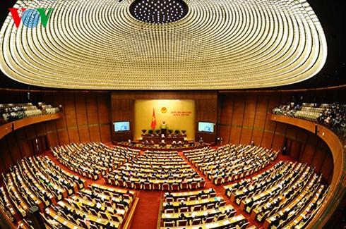 Le Minh Hung et Truong Minh Tuan répondent aux questions des députés  - ảnh 1