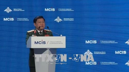 Le ministre de la Défense à la 7e conférence internationale sur la sécurité de Moscou - ảnh 1