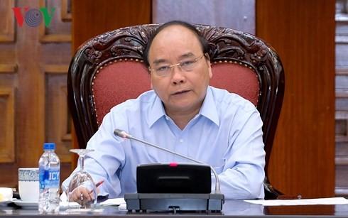 Le PM préside une réunion sur la coopération Vietnam-UE - ảnh 1