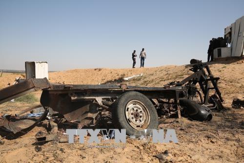 Gaza: 4 Palestiniens tués par une explosion près de la frontière israélienne - ảnh 1