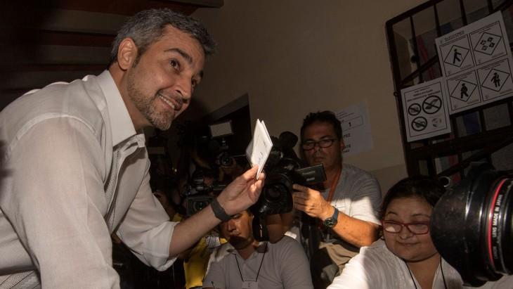 Présidentielle au Paraguay: le candidat de droite donné gagnant - ảnh 1