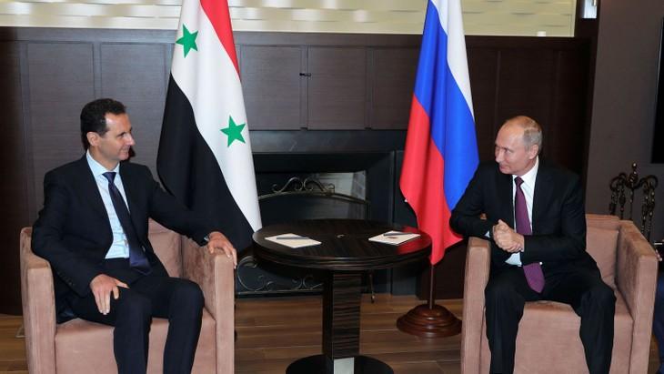 """Poutine et Assad plaident pour la reprise du """"dialogue politique"""" en Syrie - ảnh 1"""