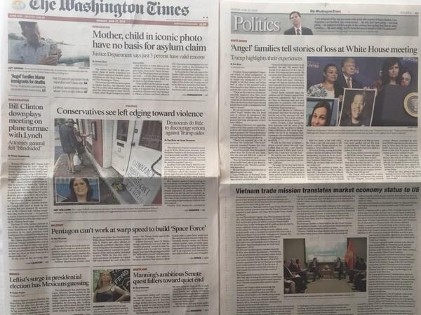 The Washington Times appelle les États-Unis à reconnaître l'économie de marché du Vietnam - ảnh 1